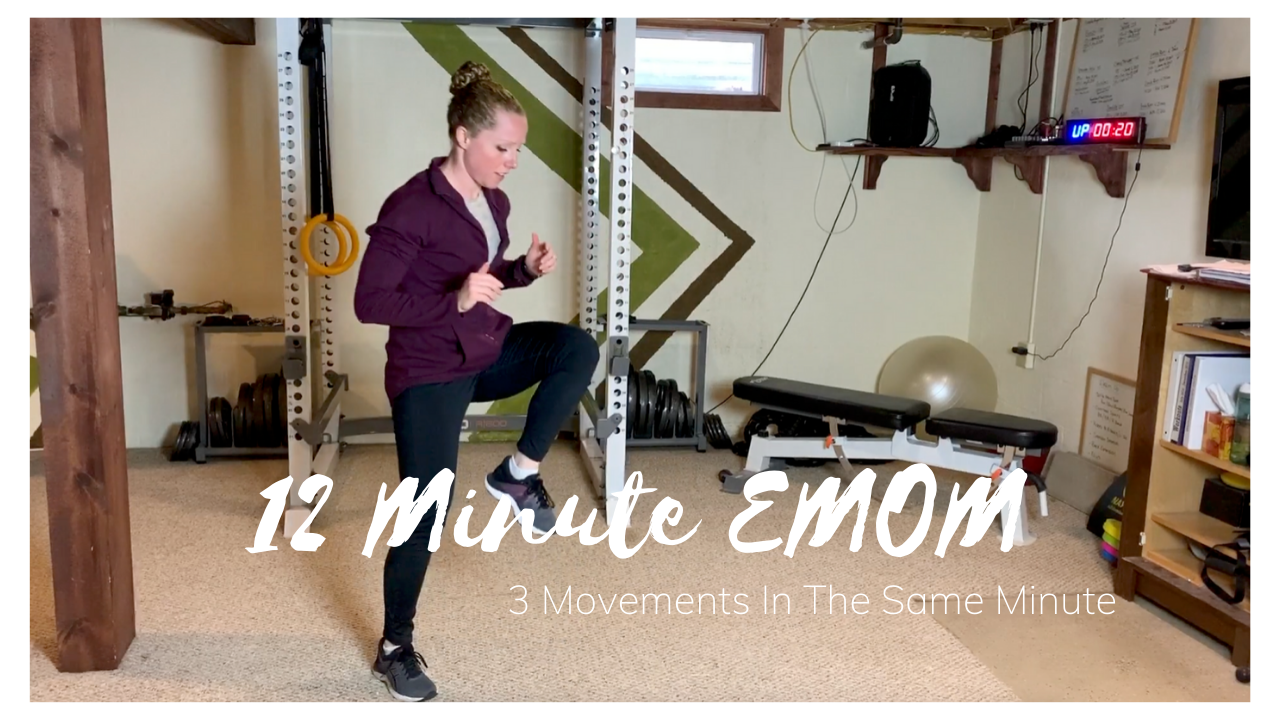 12 Minute EMOM – All In The Same Minute