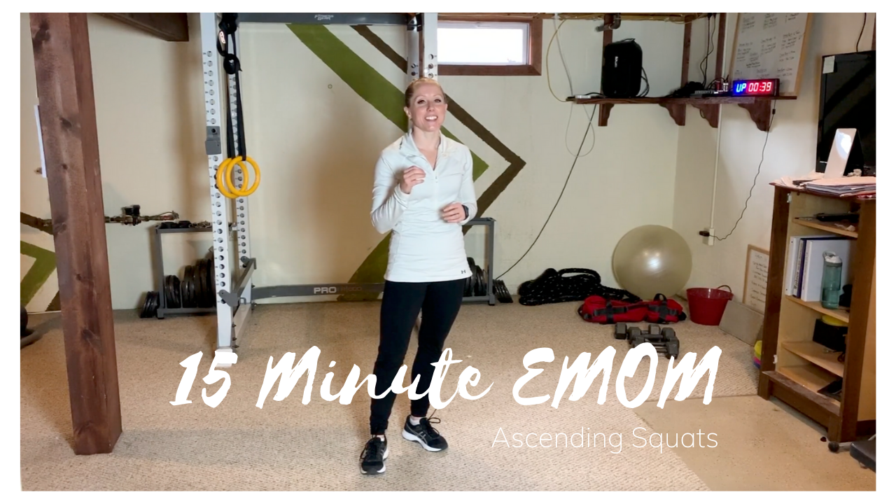 15 Minute EMOM With Ascending Squats