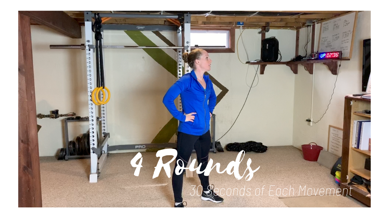 4 Rounds – 30 Seconds Max Effort