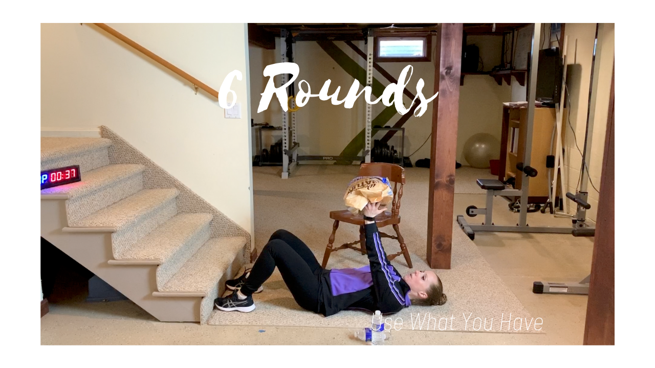6 Rounds For Time – Use What You Have