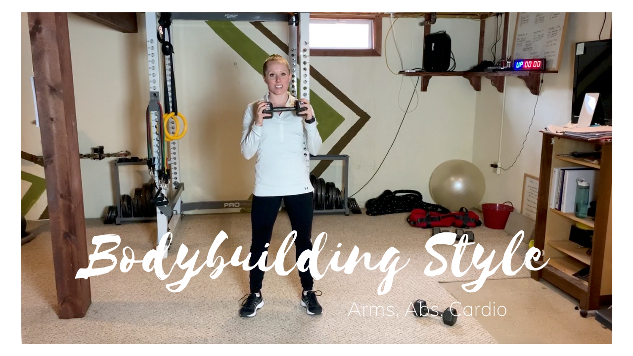 Bodybuilding Style – Arms, Abs, & Cardio