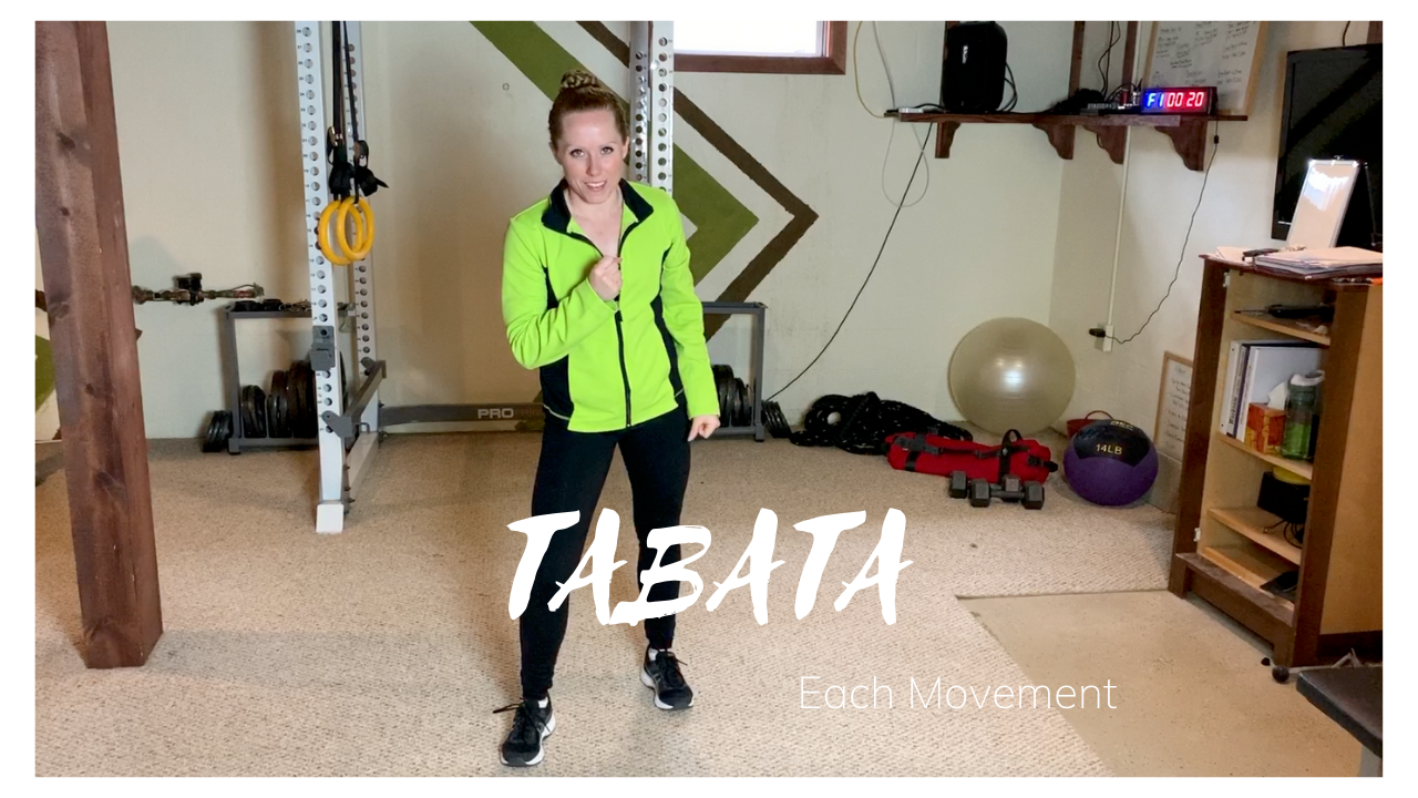 TABATA: Each Movement