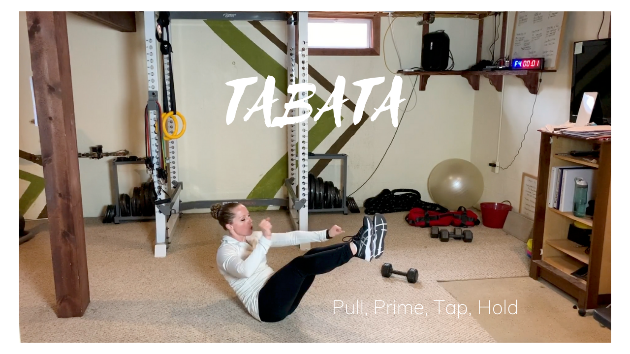 TABATA – Pull Prime Tap & Hold