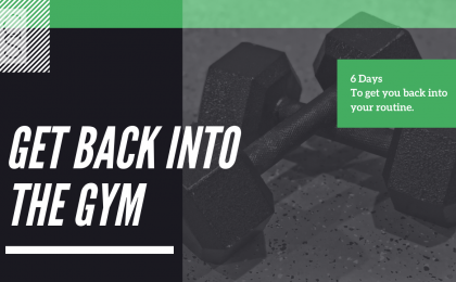 Get Back Into The Gym Workout Program