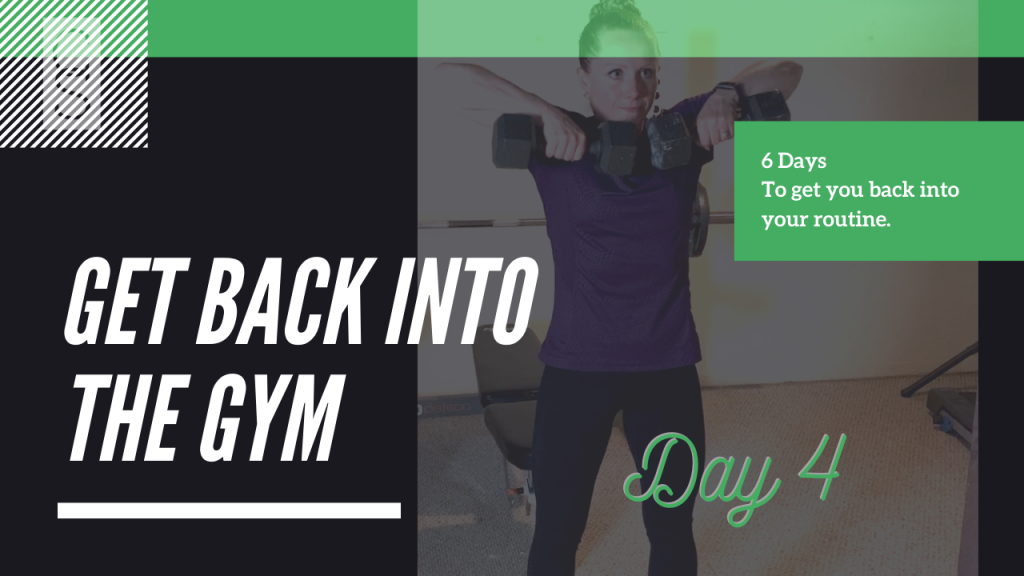 Get Back Into The Gym Day 4